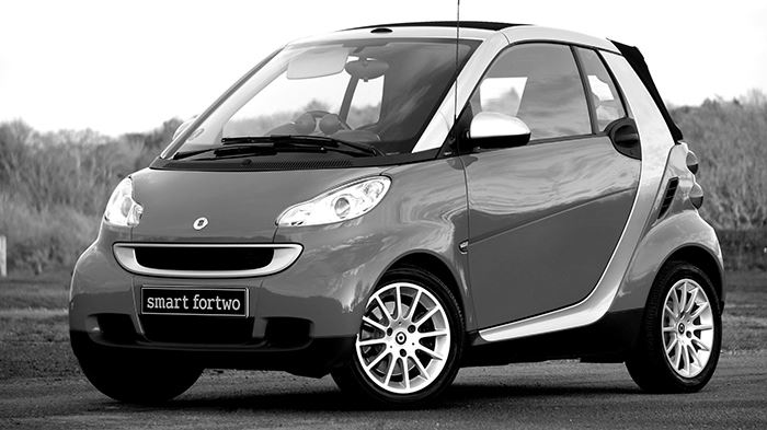 Smart Fortwo Coupe Car